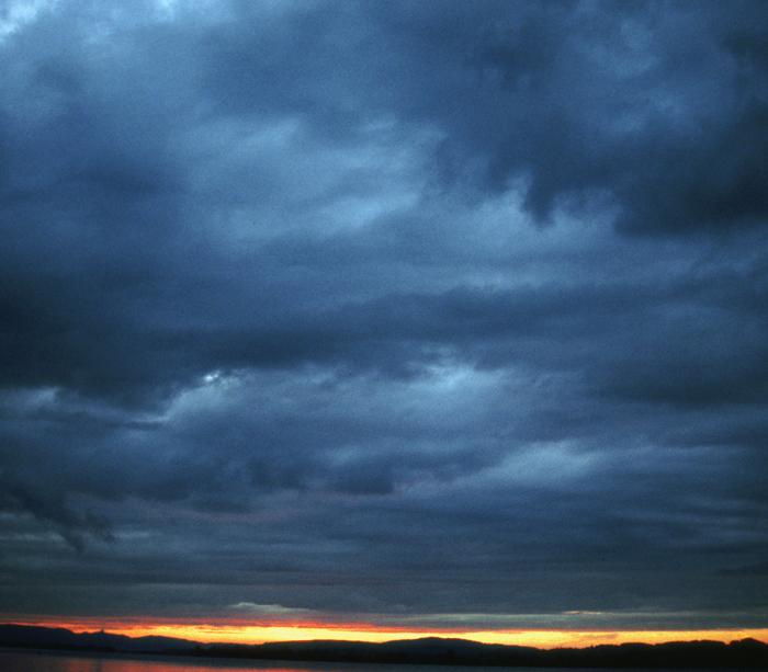Himmel über Zürichsee